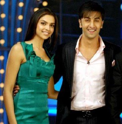 Deepika Padukone and Ranbir Kapoor Sweetest Photo
