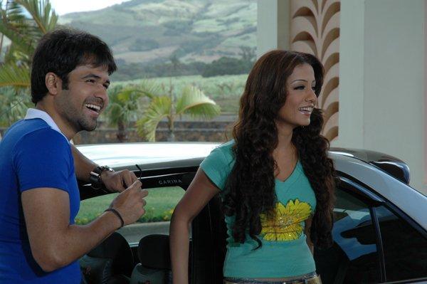Celina and Emraan Smiling Face Still