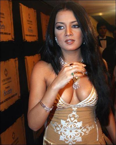 Celina Jaitely Open Boob Glamour Still