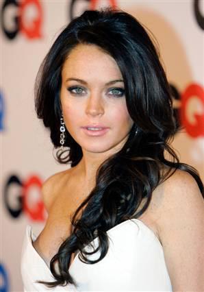 Hot Actress Lindsay Lohan Photo