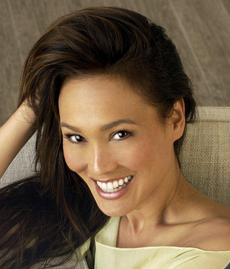 Tia Carrere Cute And Hot Smiling Look Photo