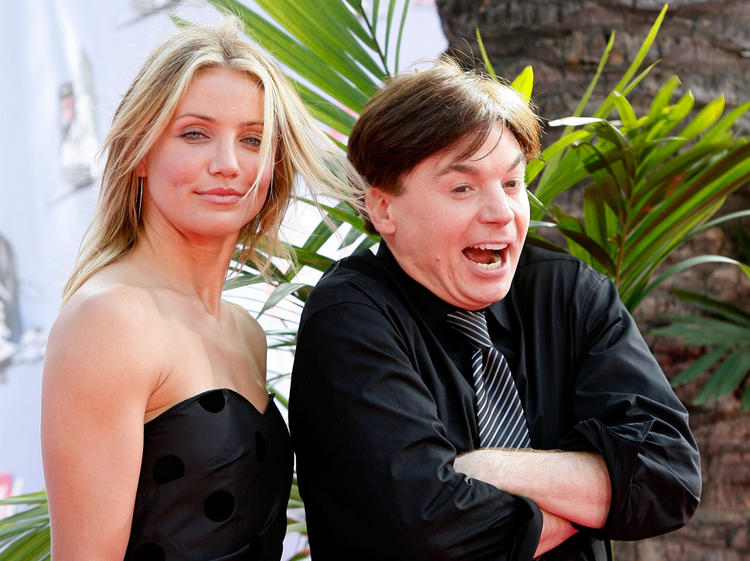 Mike Myers and Cameron Diaz Cute Stunning Pic