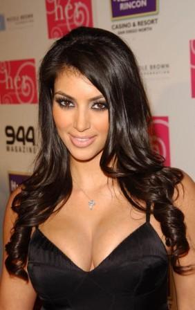 Kim Kardashian Sexy Eyes Look Still
