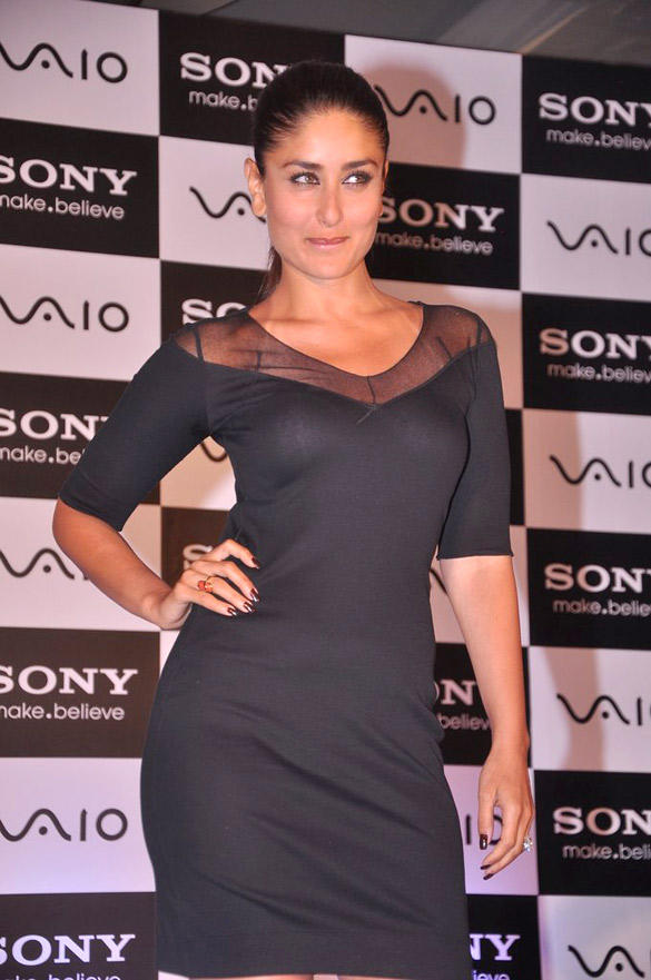 Kareena Kapoor Looks Sexy at The Launch Of Sony Vaio Laptop