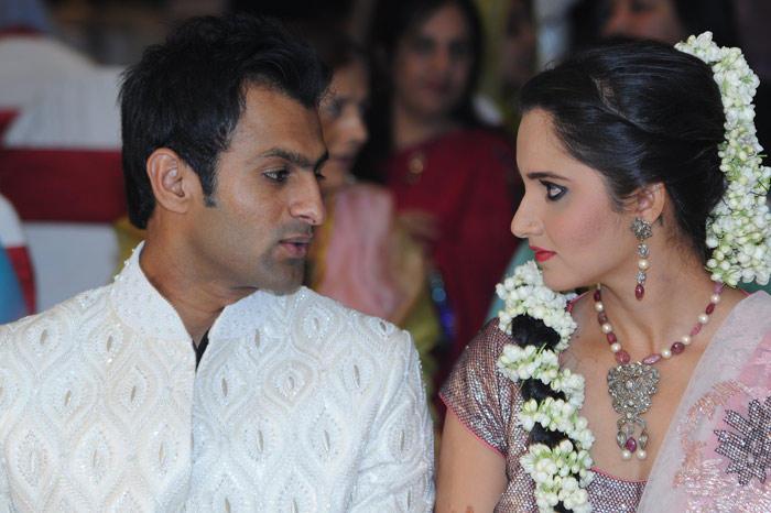 Sania Mirza and Shoaib Malik Sangeet Ceremony Photo