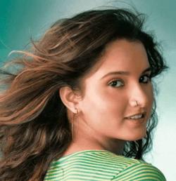 Sania Mirza Sexy Shiny Face Look Still