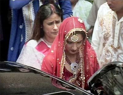 Sania Mirza Wedding Picture