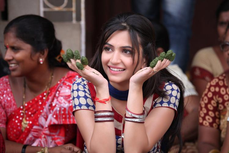 Kriti Kharbanda Cool Still From Ongole Githa Movie