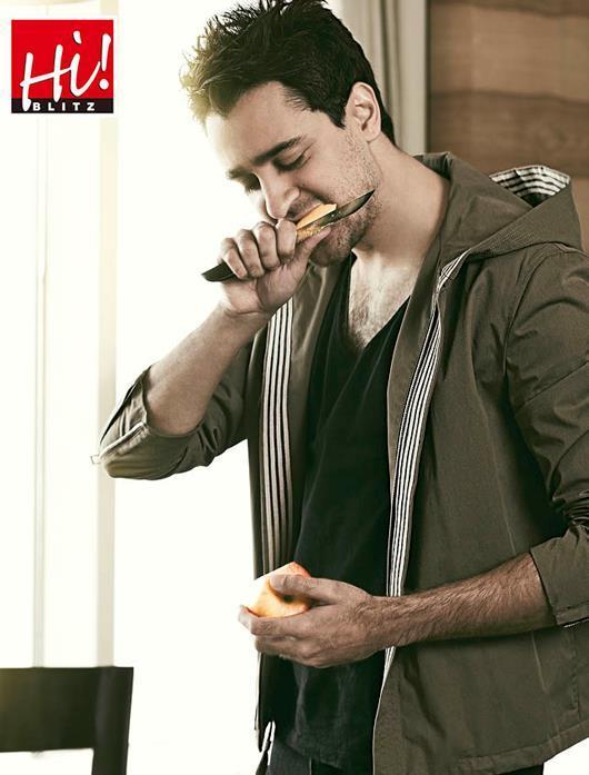 Imran Khan Cool Photo Shoot For Hi! BLITZ January 2013 Issue