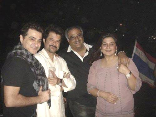 Anil,Boney And Sanjay Nice Smiling Pose For Camera