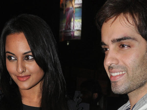 Sonakshi And Luv Gorgeous Look Photo
