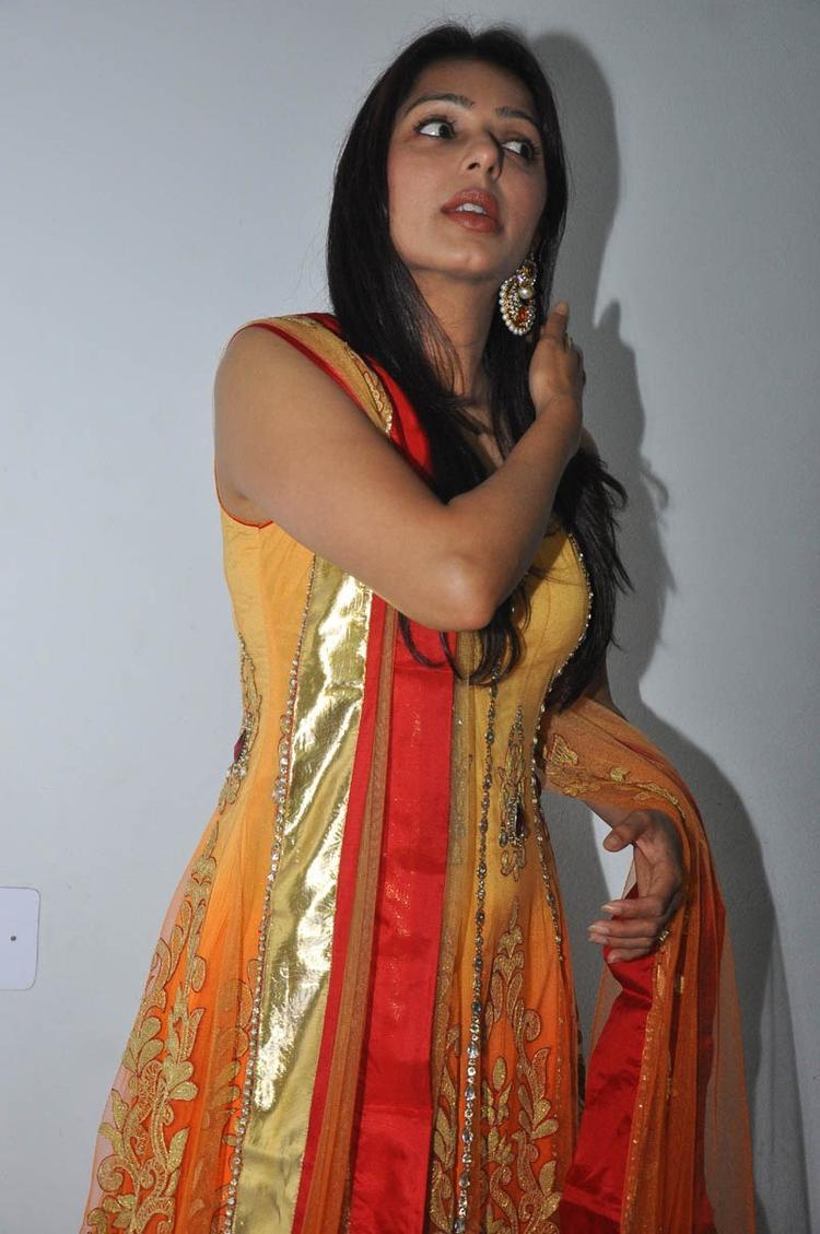 Bhumika Chawla Glamorous Look Still At April Fool Audio Launch