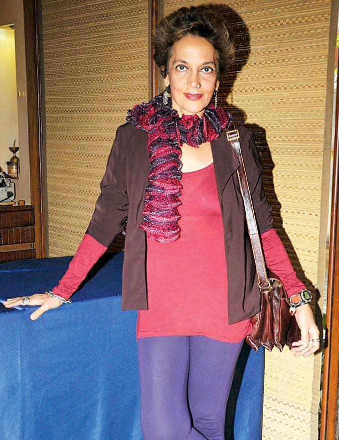 Madhuri Bhatia Strikes A Pose At The Annual Get Together Of Puncham