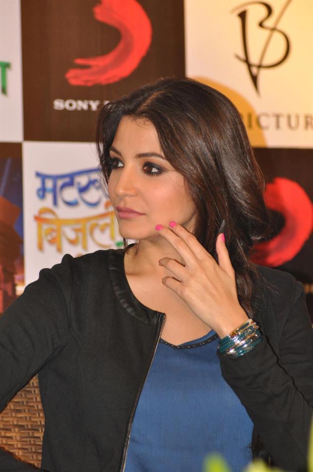Anushka Sharma Attend The  Press Conference Of Matru Ki Bijlee Ka Mandola