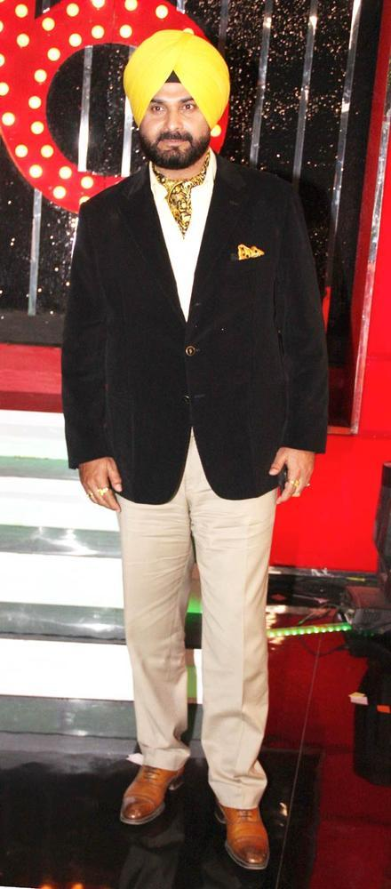 Navjot Singh The Laugh Master Spotted At Bigg Boss 6 Grand Finale
