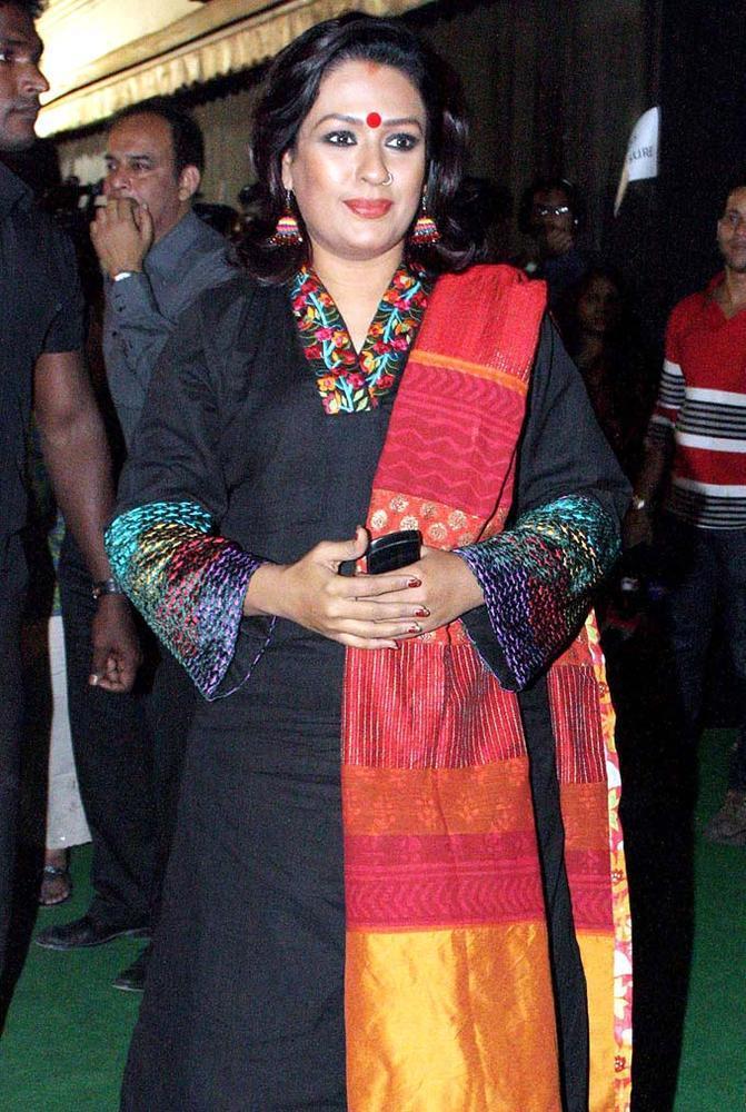 Ashwini Kalsekar Clicked At Mana Shetty Store Launch