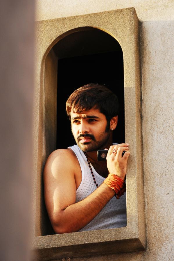 Ram Pothineni Photo Still From Telugu Movie Ongole Githa
