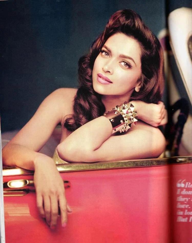 Deepika Padukone Spicy Look Photoshoot For Filmfare January 2013 Issue
