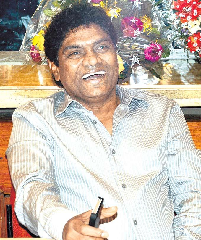 Johnny Lever Smiling Photo Clicked At The Music Launch Of Deewana Main Deewana