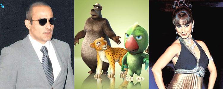 Akshaye And Urmila Give Their Voices To The Animated Film Delhi Safari