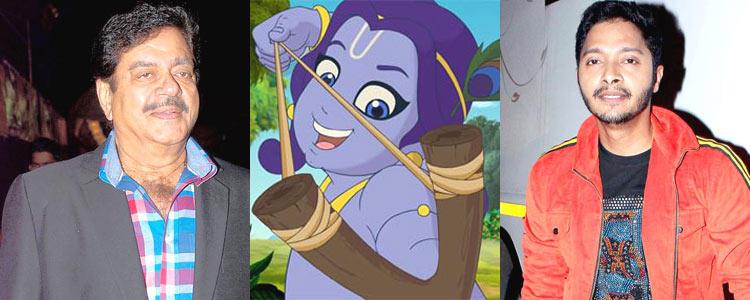 Shatrughan And Shreyas Voice Recorded For Animated Movie Dashavatar