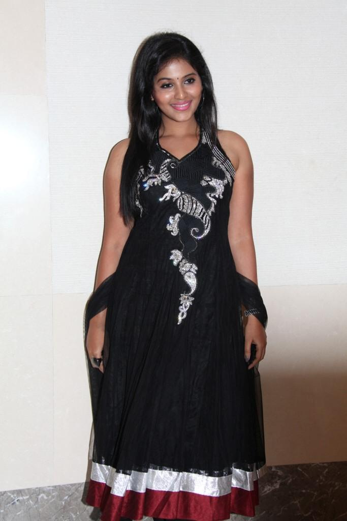 Anjali Sizzling And Attractive Photo At Balupu Movie Logo Launch