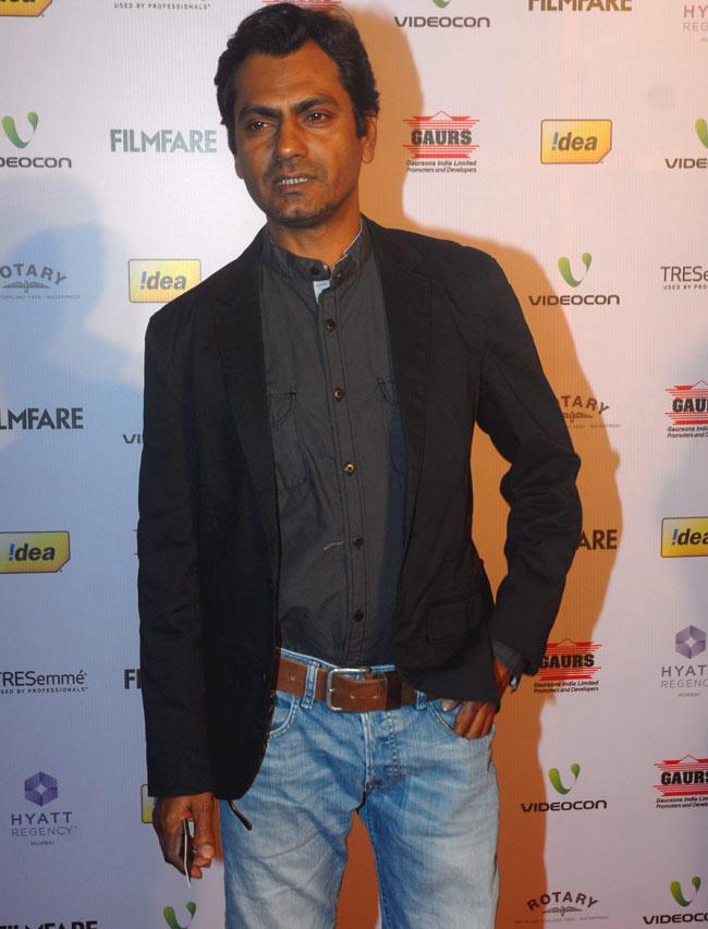 Nawazuddin Photo Clicked At Filmfare Awards Function