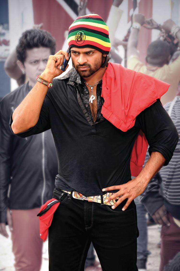 Sai Dharam Tej Angry Look Photo From Telugu Movie Rey