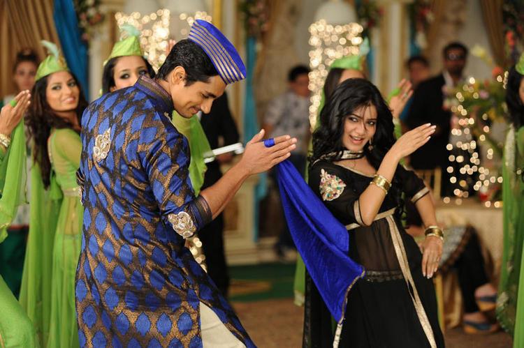 Siddharth And Samantha Dance In A Qabali Song In Movie Jabardasth