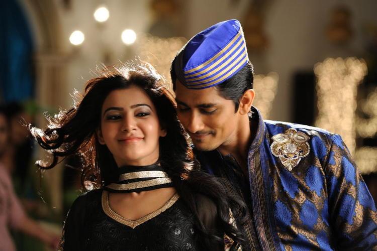 Siddharth And Samantha From Movie Jabardasth