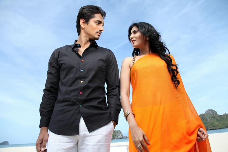 Siddharth And Samantha Nice Look Photo From Movie Jabardasth