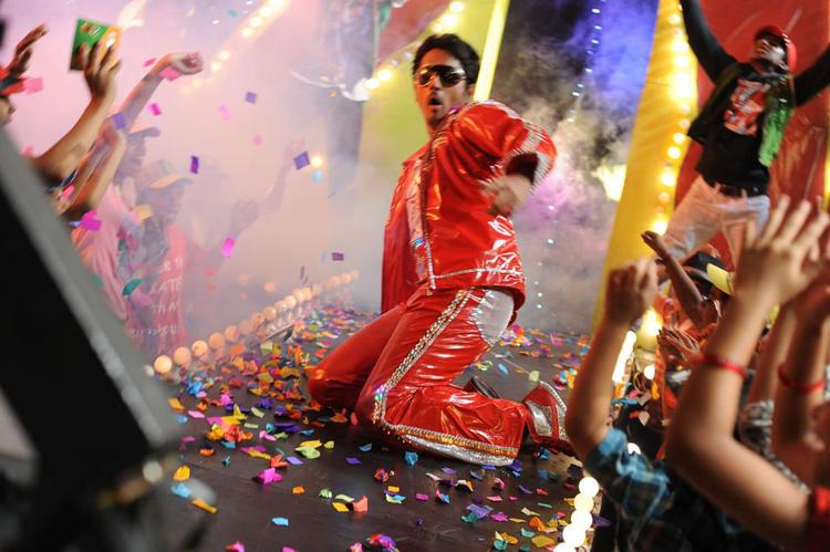 Siddharth Rocking Dance Photo From Movie Jabardasth