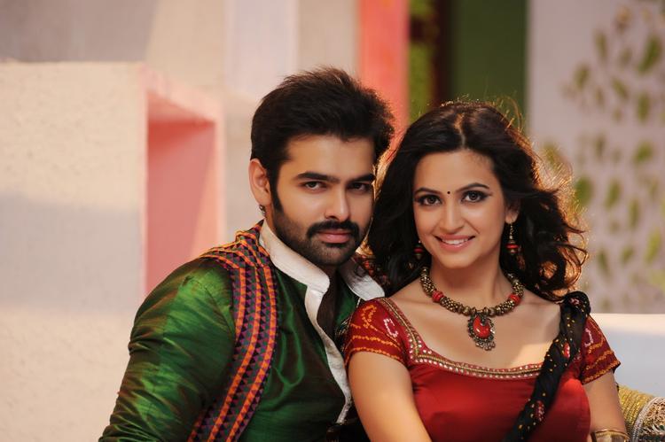 Ram Pothineni And Kriti Kharbanda Nice Look Still From Ongole Githa Movie