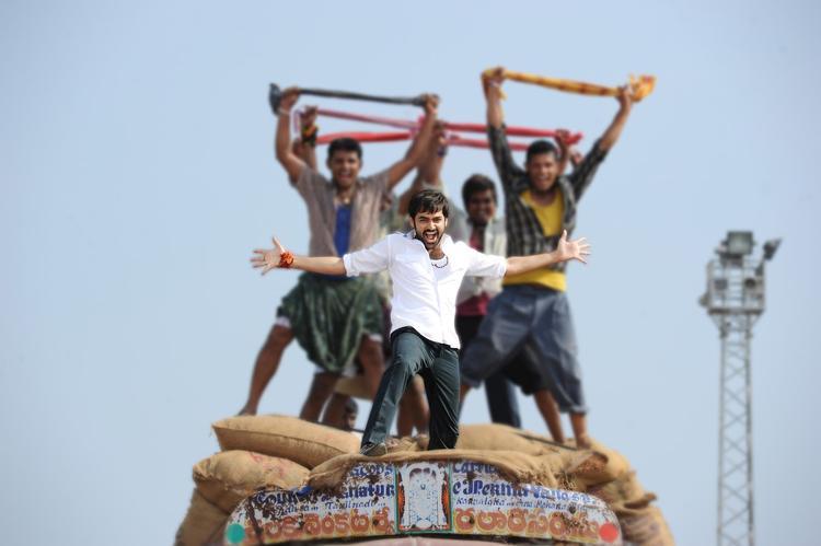 Ram Pothineni Song Still From Ongole Githa Movie