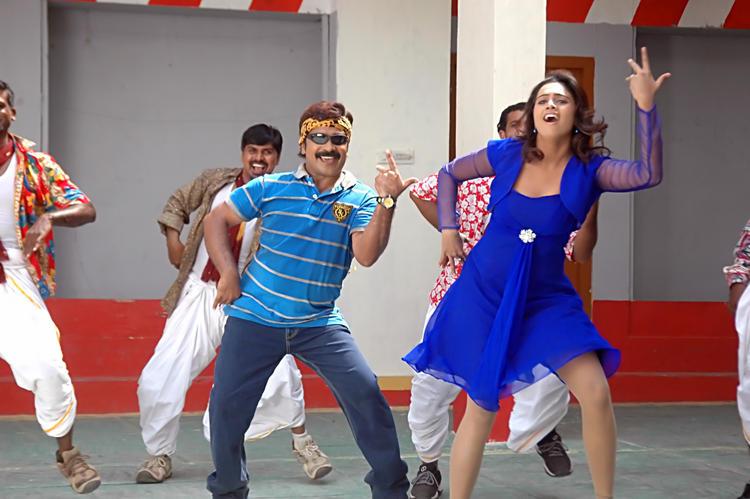 Abhinayashree And Yati Raja Song Still From Pandavulu Movie