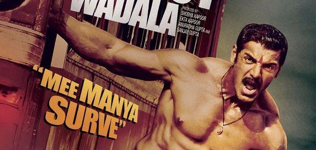 John Abraham Six Pack Body Hot Look In Shootout At Wadala Poster