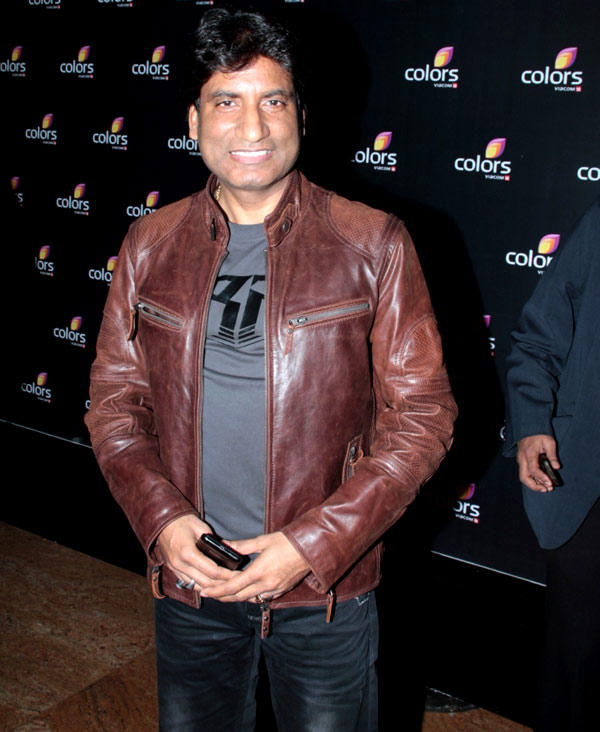 Comedy King Raju Srivastava Flashes Smile At Colors 4th Year Celebration Party