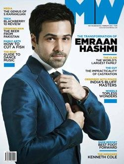 Handsome Emraan Hashmi On The Cover Of Man's World India February 2013