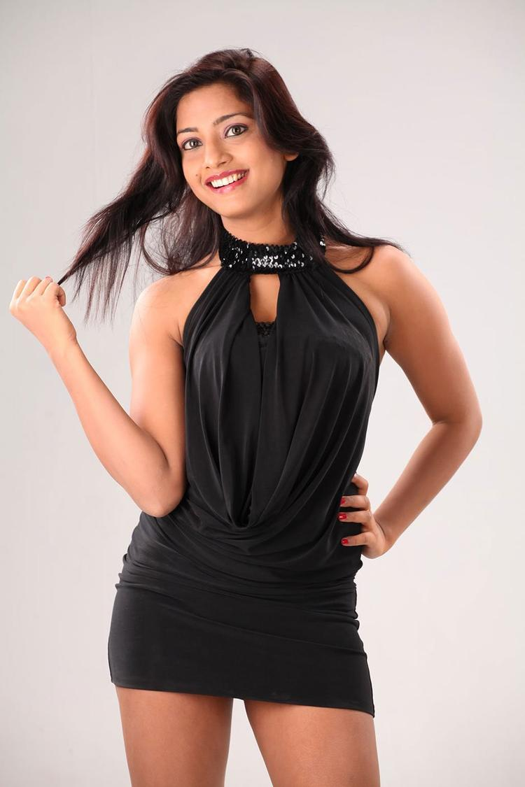 Kamna Completed Her Look With Flowing Hair Still
