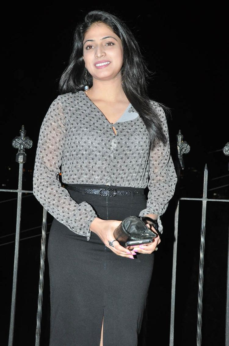 Haripriya Charming Face Look Still At Abbai Class Ammai Mass Audio Launch Function