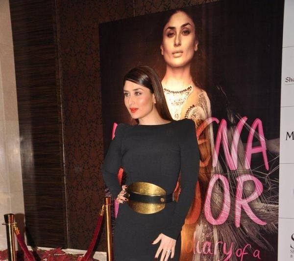 Kareena Stylish Pose For Shutterbugs At Rochele Pinto Book Launch Event