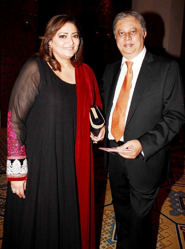 Yogesh And Falguni Spotted At Great Women Achievers Awards 2013