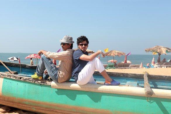 Siddharth And Divyendu Cool Pose Still From Chashme Baddoor Movie