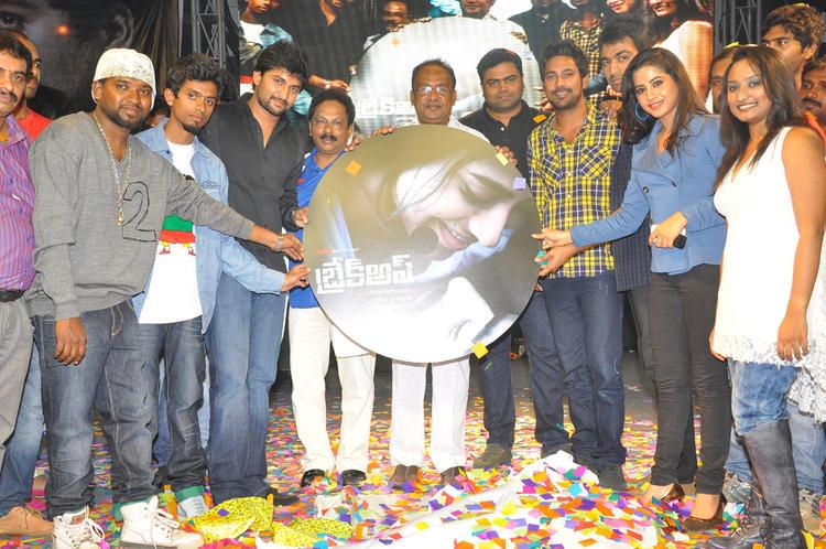 Ranadheer,Swathi,Nani And Sagar Make An Appearance At Break Up Audio Launch