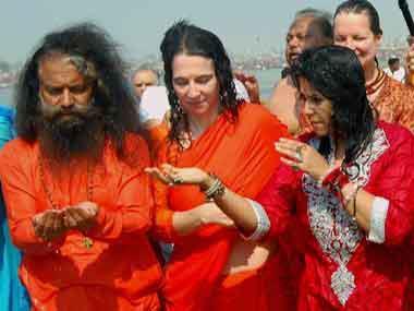 Ekta Kapoor Offers Prayers At Kumbh Mela In Allahabad