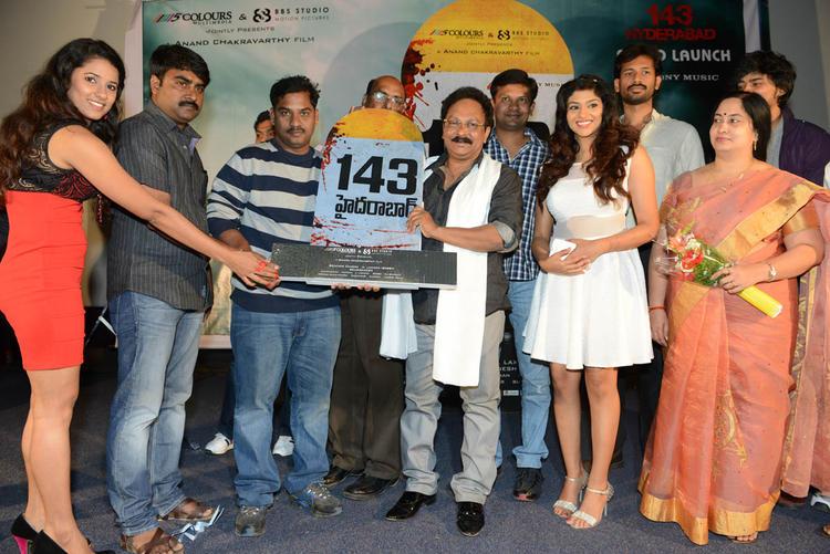 Shravya,Anand,Lakshmi And Ramesh Launch The Audio Of Movie 143 Hyderabad