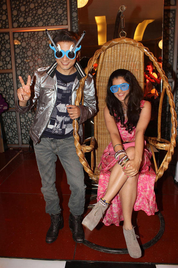 Ali Zafar And Taapsee Pannu Cool Funny Pose At Chashme Buddoor Audio Launch Event