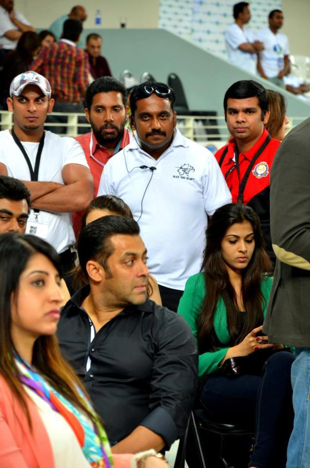 Salman Make An Appearance At CCL 3 Held In Dubai