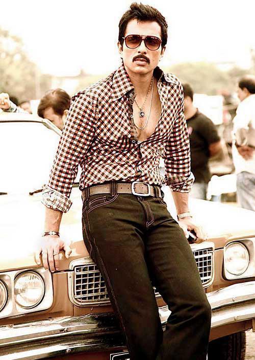 Sonu Sood Stylish Look Photo Still From Movie Shootout At Wadala