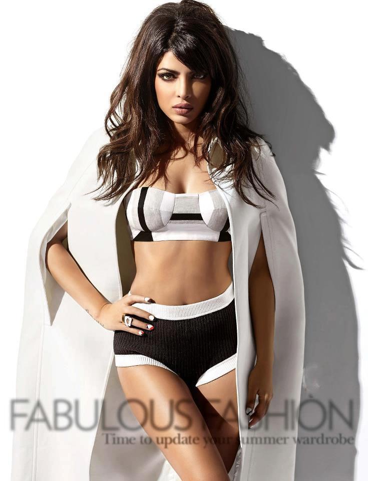 Priyanka Chopra Sexy Look Photo Shoot For Vogue India March 2013